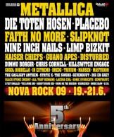 Novarock 2009: Das Line up kann sich sehen lassen