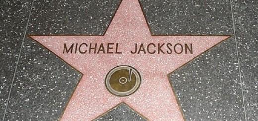 Michael Jackson am Walk of Stars. In wird wird sein Stern nun doch nicht aufgehen.