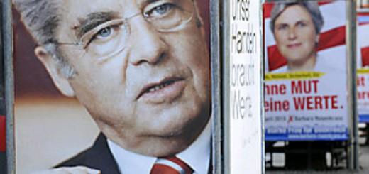 Wahlplakate dominieren wieder das Strassenbild