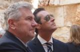 Andreas Mölzer (links, hoho), HC Strache (rechts)