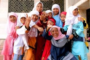 Typische Muslimische Mädchen. Oder so.