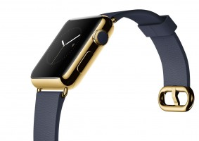 Die Apple Watch in Gold