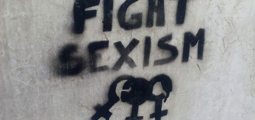 """Fight sexism"": Graffiti in Turin, November 2016"