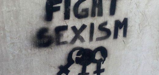"""""""Fight sexism"""": Graffiti in Turin, November 2016"""